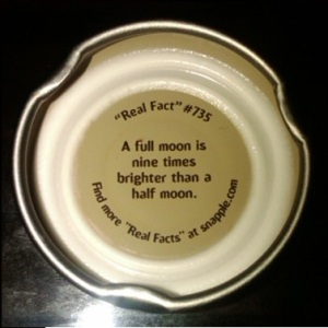 snapple fact2