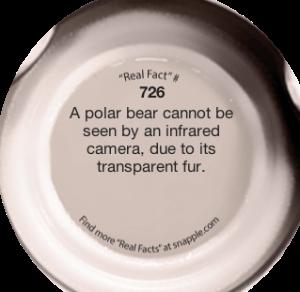 snapple fact3